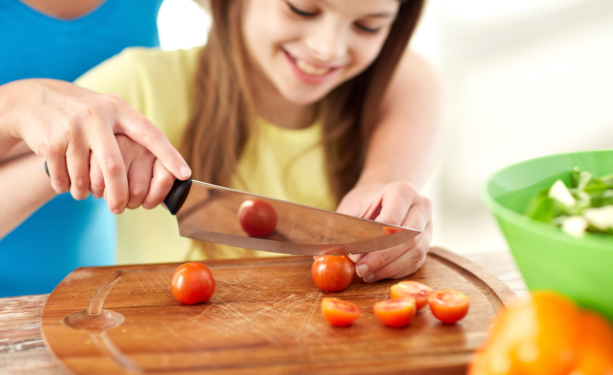 Cooking with your kids!