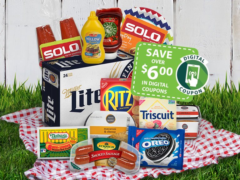 Backyard Party save 6 dollars with digital coupons