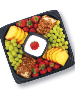 Breakfast Bread and Fruit Tray