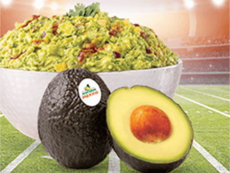 guacamole with pineapple onion and spices
