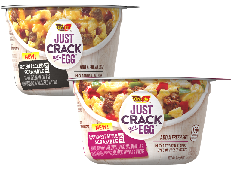 packages of Just Crack an Egg items