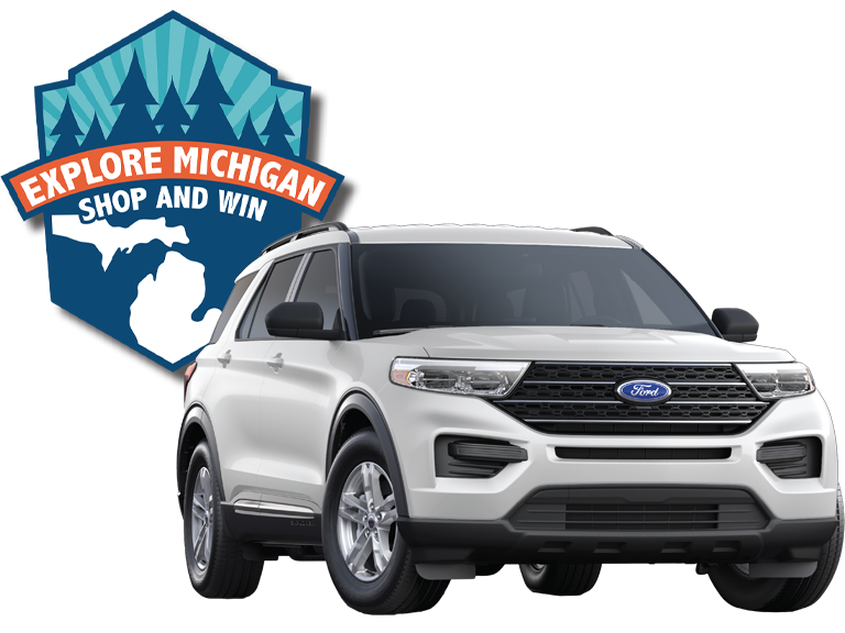 Explore Michigan Shop and Win! Grand Prize 2020 Ford Explorer