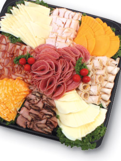Executive Meat and Cheese Platter