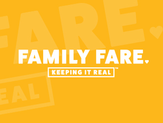 "At Family Fare our mission is simple: be the ""go-to"" neighborhood market that provides  REAL VALUES, for real people."