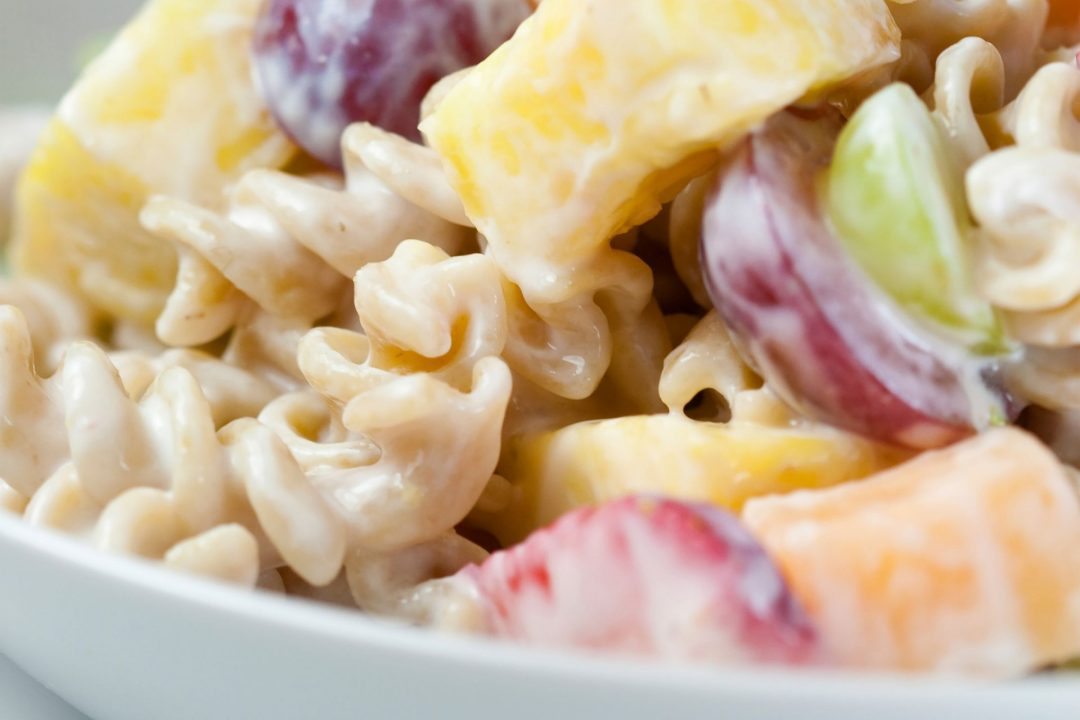 Fruit and Pasta Toss