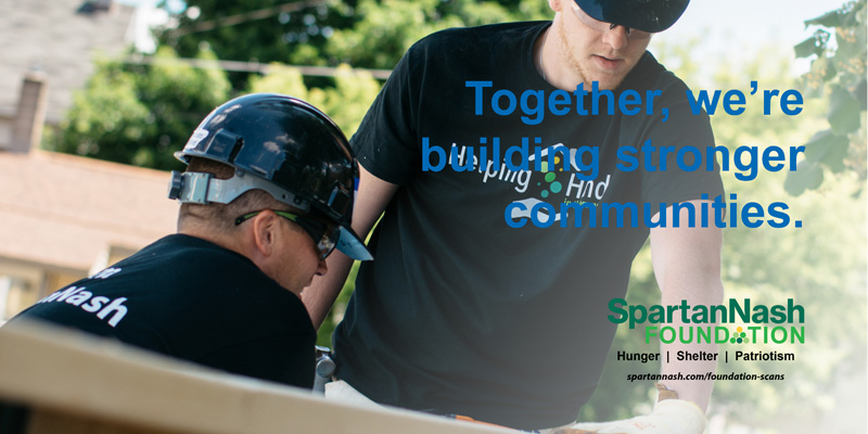 SpartanNash Supports Habitat for Humanity