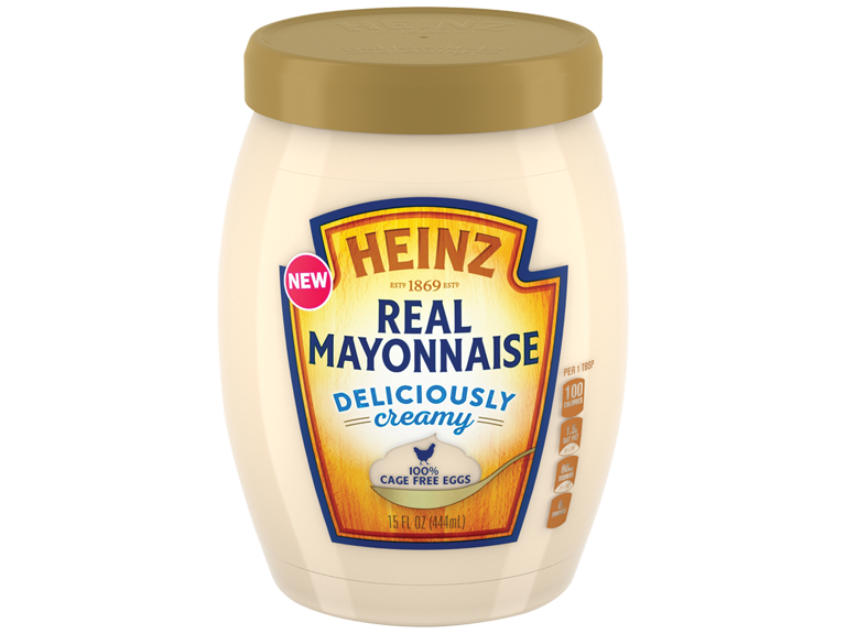 New Real Mayonnaise from Heinz