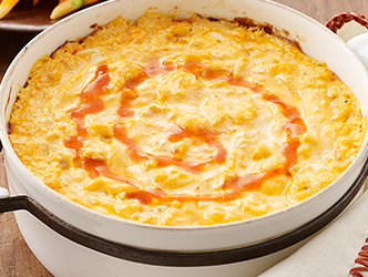 Easy cheesy buffalo dip recipe