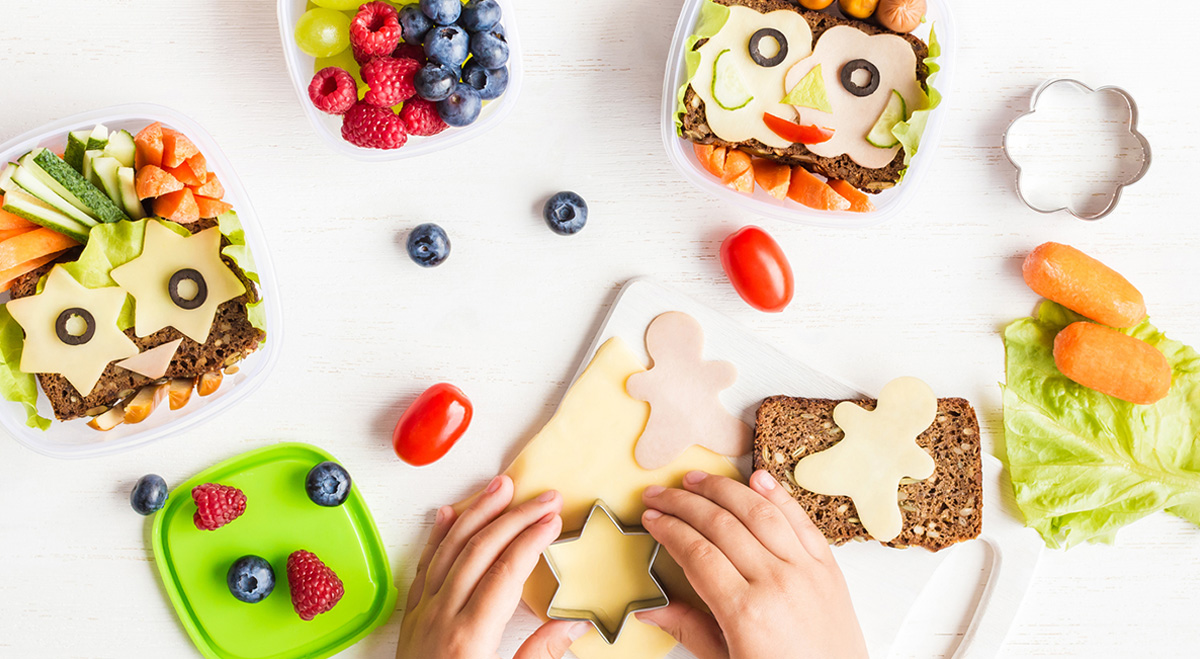 fun food shapes for kids and kids at heart