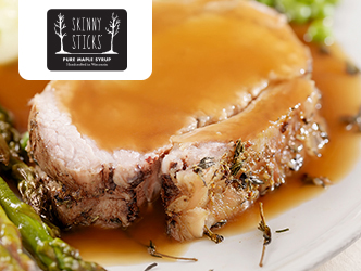 Maple-Brown Sugar Pork Loin recipe