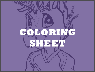 Oatis Coloring Sheet
