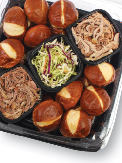 Captain's Pulled Pork Sliders