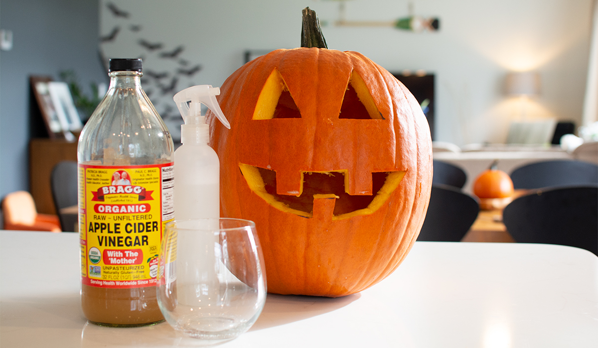 Learn how to make your carved halloween pumpkins last longer.