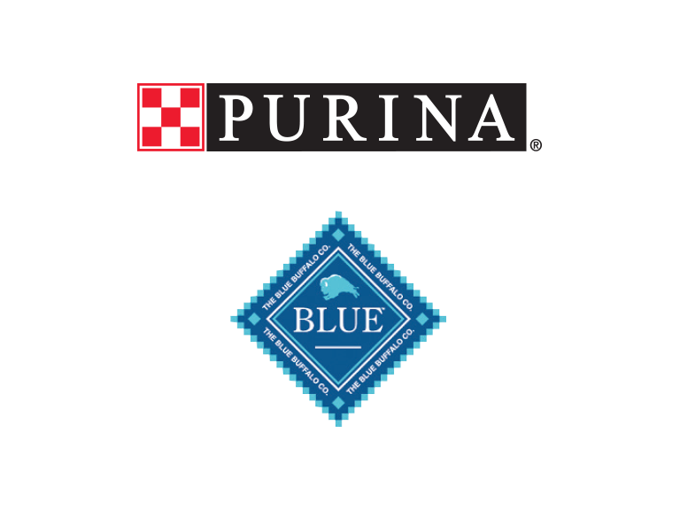 Purina and Blue Buffalo