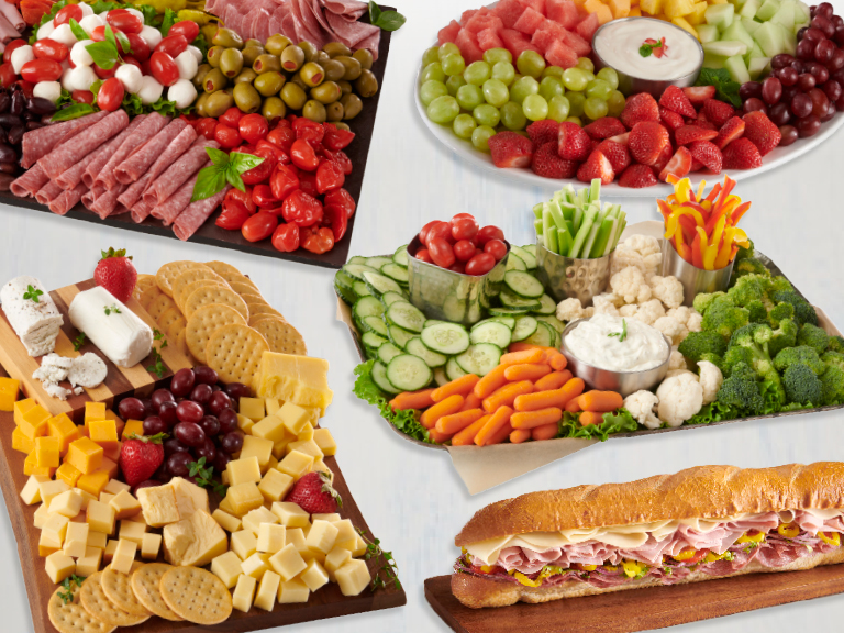 Save on deli graduation party items