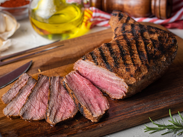 Save  one dollar off per pound on Tri Tip Steaks