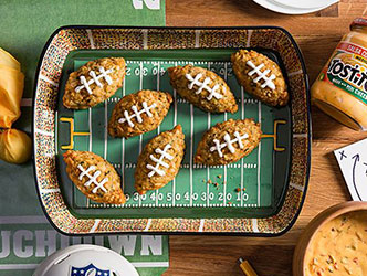 Touchdown Tots - score big with this fun recipe