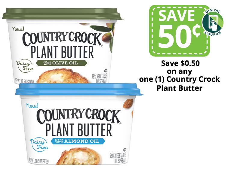 country crock plant based butter packages