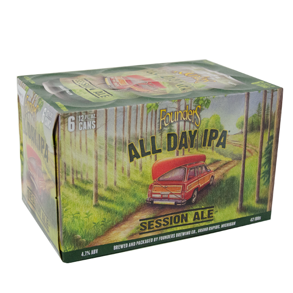 Founders All Day IPA 6pk can