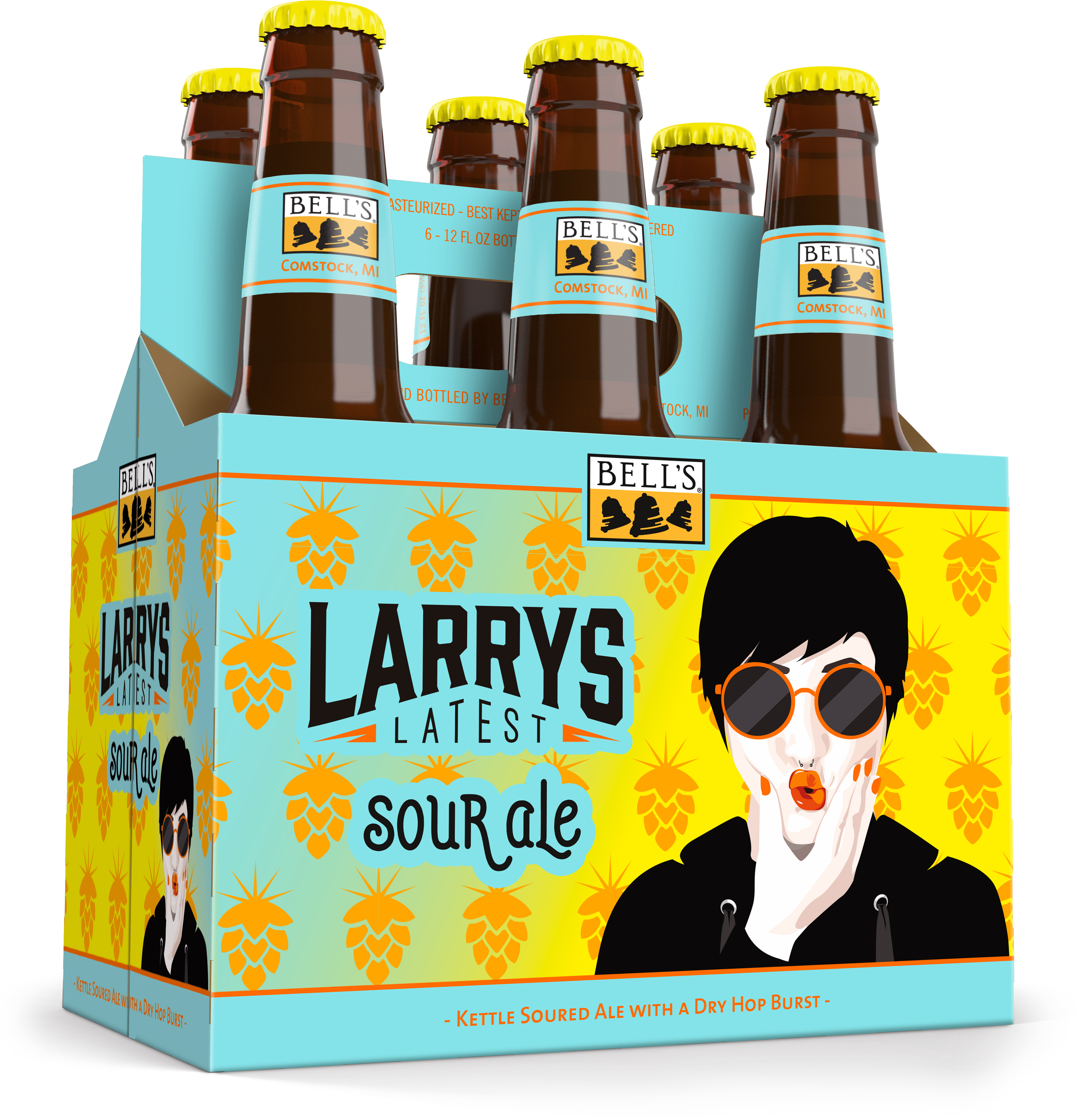 Bells Larry Latest Fruit Fight 6pk btl