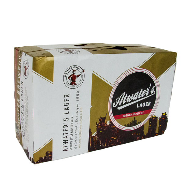 Atwater Lager 15pk can