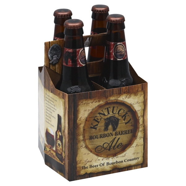 Kentucky Bourbon Barrel Aged Ale 4pk btl