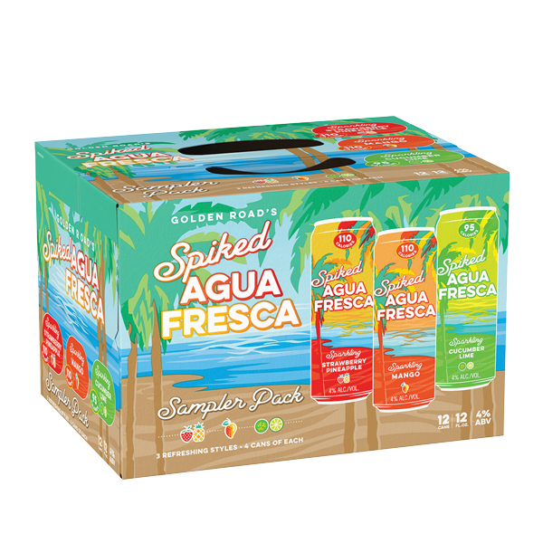 Golden Road Agua Fresca 12pk can
