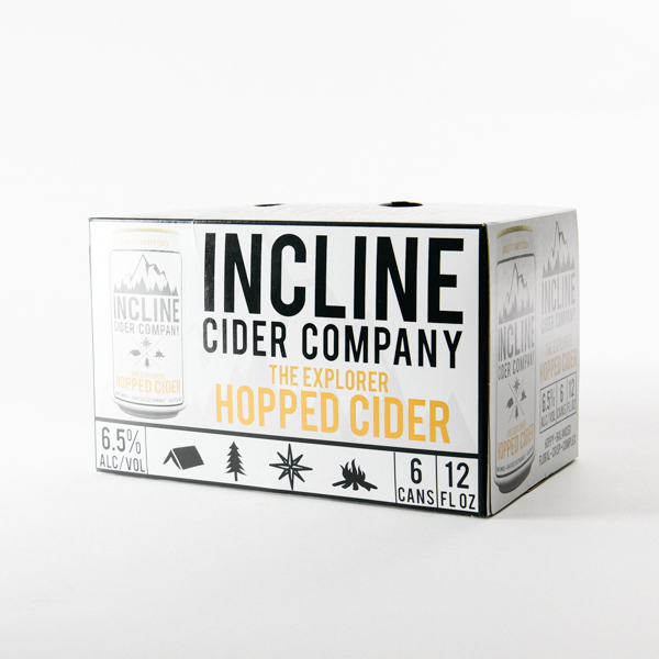 Incline The Explorer Cider 6pk can
