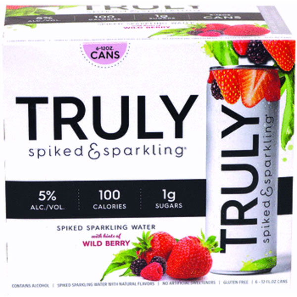 Truly Wild Berry 6pk can