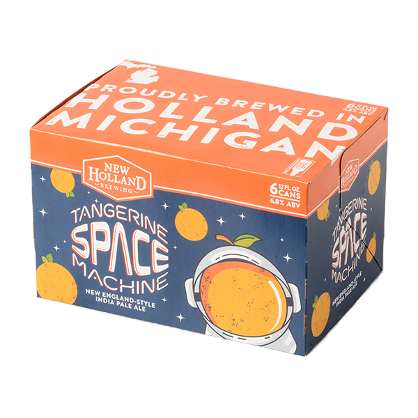 New Holland Tangerine Space Machine 6pk can By The Case!