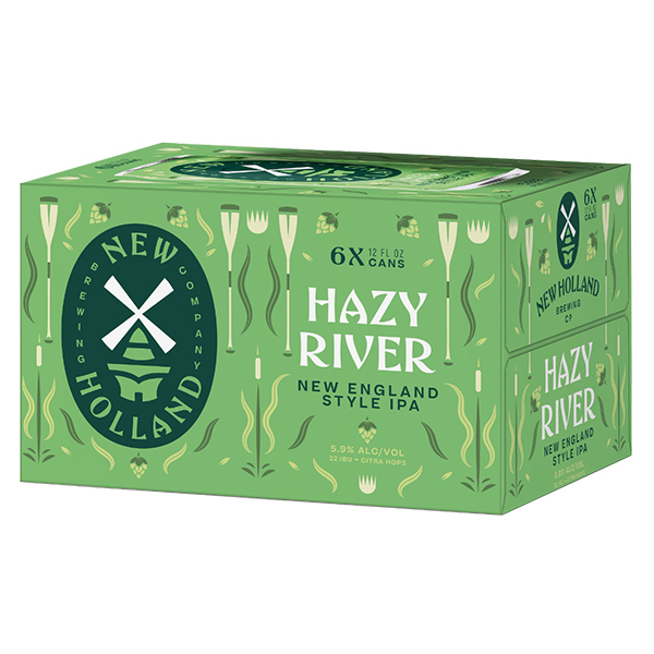 New Holland Hazy River 6pk can By The Case!