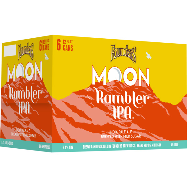 Founders Moon Rambler 6pk can By The Case!