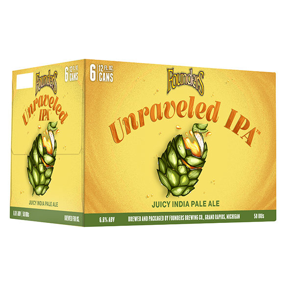 Founders Unraveled 6pk can By The Case!