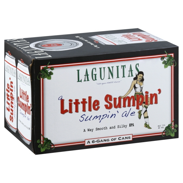 Lagunitas A Little Sumpin' Sumpin' Ale  6pk can By The Case!