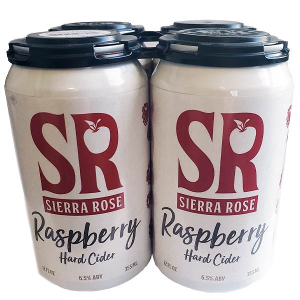 Sierra Rose Raspberry 4pk can By The Case!