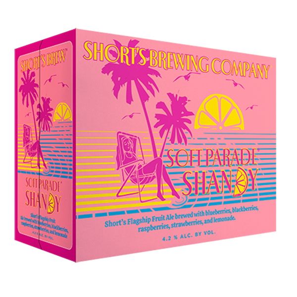 Short's Soft Parade Shandy 12pk can