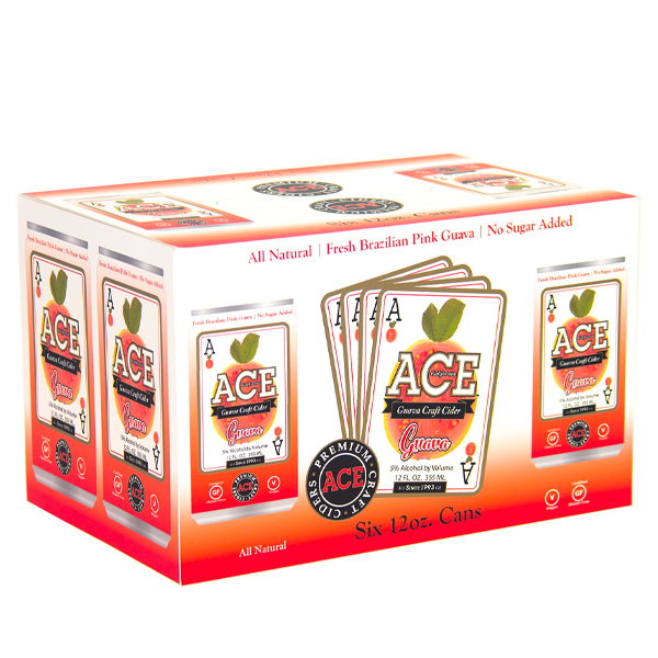 Ace Guava 6pk can By The Case!