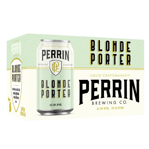 Perrin Blonde Porter 6pk can By The Case!