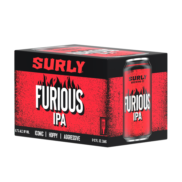 Surly Furious 6pk can By The Case!